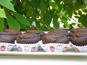 Веган шоколадови кексчета