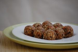 apples walnuts coconut dates balls